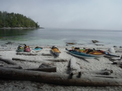 Broken Group Kayaking