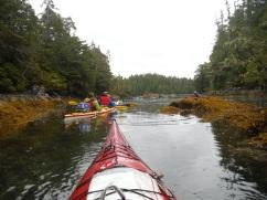 Broken Group Kayaking